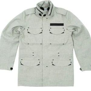 Nike Stormfit Wool M65 Heather Grey Jacket
